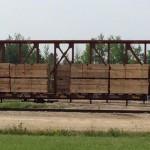 Loaded Rail Car